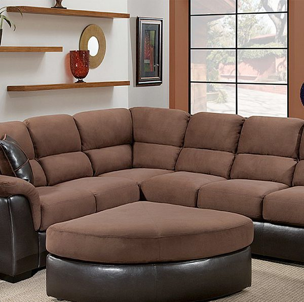 Large Scale L Shaped Two Piece Sectional All Nations