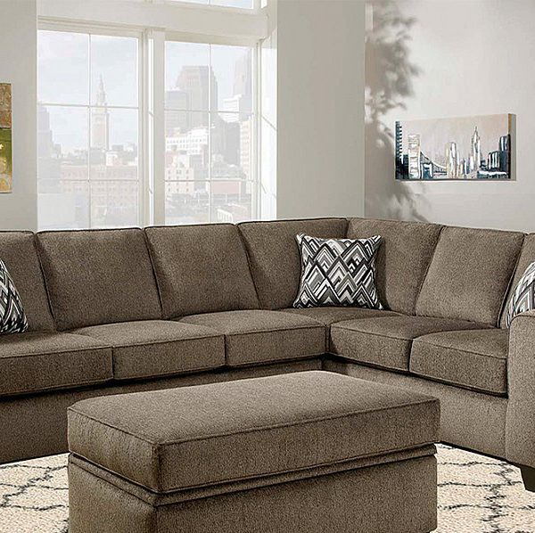 Diamond Modern White Leather U Shaped Sectional Sofa W: Grey Textured L Shaped Two Piece Sofa Sectional