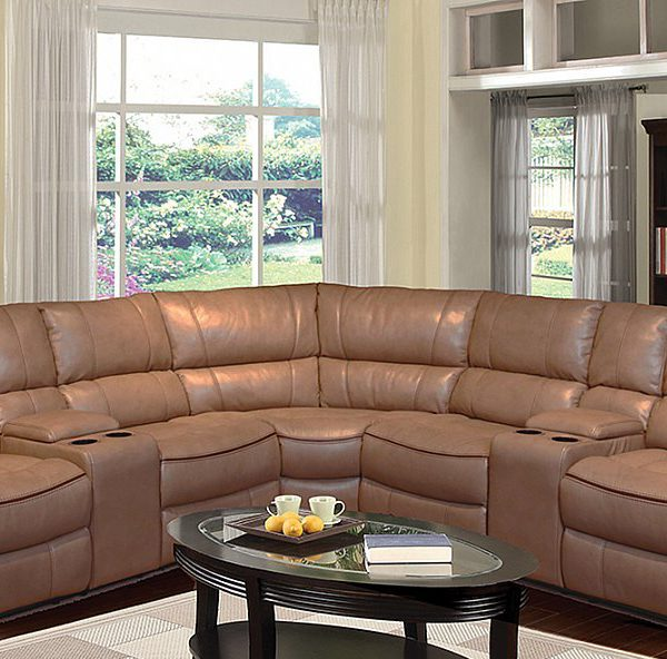 3 Piece Power Motion Sectional With Reclining Ends In A